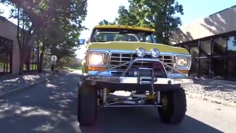 1978 Ford Bronco Stock 791-DET