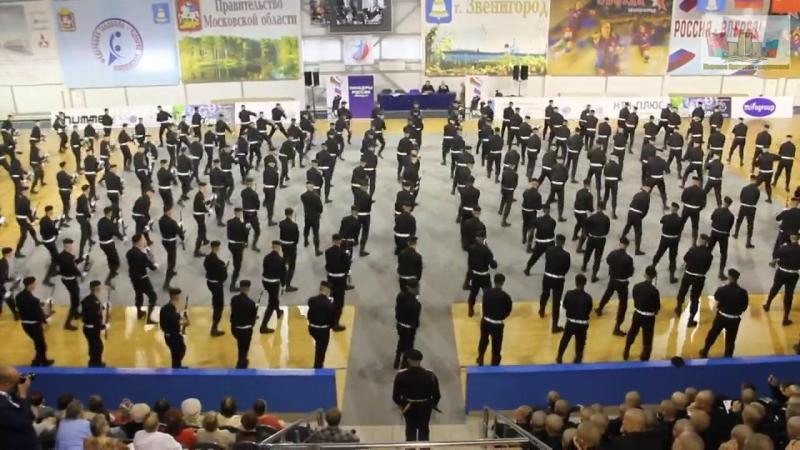 Звенигород. Показательные выступления 1й роты 336 бригады морпехов БалтФлота