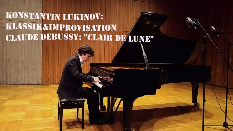 Konstantin Lukinov KlassikImprovisation - Debussy Clair de lune