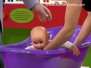 Почему важно плавать с рождения? (Доктор Комаровский)