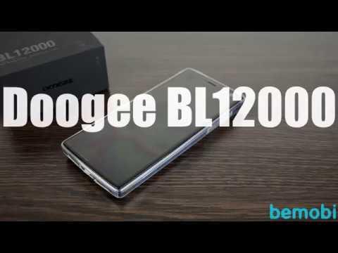 Самый автономный смартфон Doogee BL12000 с аккумулятором на 12000 мАч!