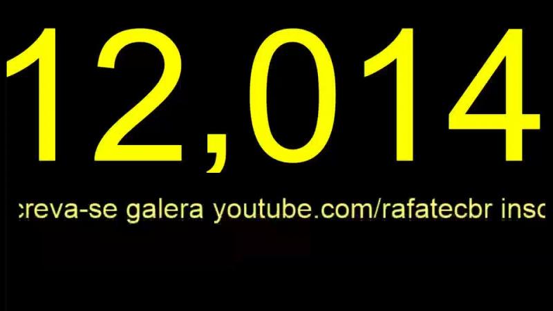 Batemos 12K no nosso canal» Live Divulgação