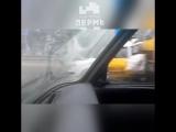 Жесткое ДТП перед Лядовской развязкой.