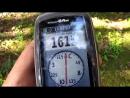 Навигатор garmin 64 ST -тест на точность и прием сигнала в глухом лесу(1)