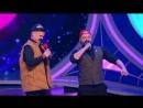Команда «Веселые Натушки» (Путин и Медведев в лифте) - КВН Наполеон Динамит