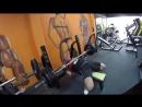 Bench press 160kg/353lb 4sets of 3 reps