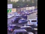 Кортеж главы МВД Дагестана