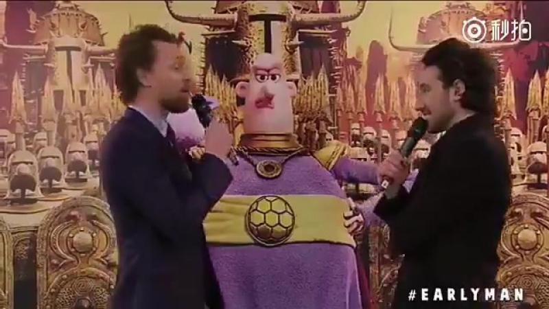 Том на премьере м/ф Дикие предки 14 января, Лондон