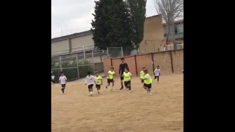 Роналду показал красавец-гол, который забил его сын