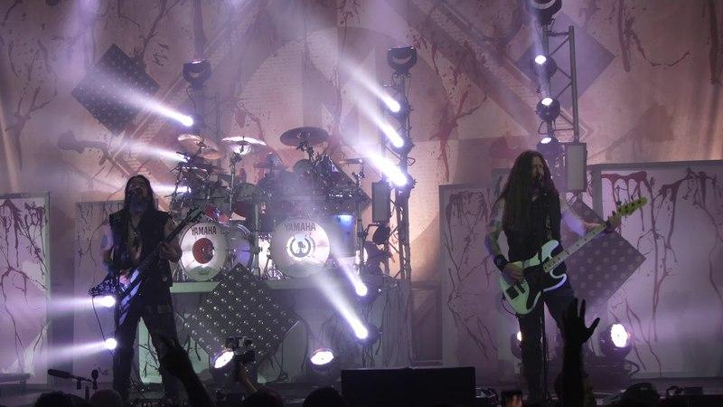 Machine Head - Triple Beam, Live @ Gasometer Wien 19.4.2018