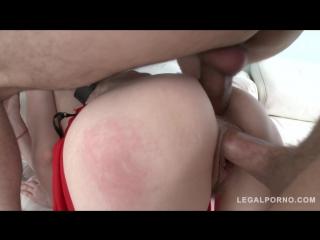 13.01.18.sz1405 - redhead slut violet monroe takes rough anal fucking  balls deep dp