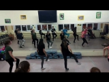 Репетиция-группа Newki танец Племя Диких