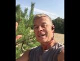 Доброе утро от Олега Газманова, и его собаки Зорьки!))