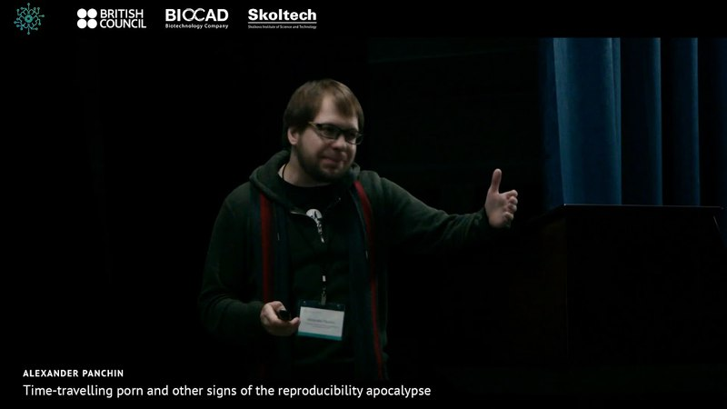 Alexander Panchin. Time-travelling porn and other signs of the reproducibility apocalypse