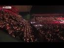 28 тысяч фанатов Униона поют рождественскую песню