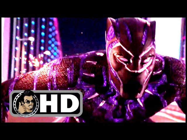 BLACK PANTHER Movie Clip - Car Chase Trailer (2018) Marvel Superhero Movie HD