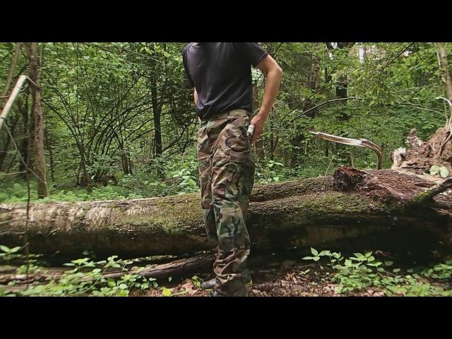 Обзор - полевые штаны BDU Pants оригинального производства в расцветке Woodland