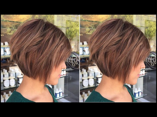 How to Cut Short Layered Haircut Step by Step - Bob layered haircut - Hairbrained