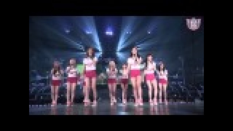 SNSD - Into The New World [GIRLS PEACE] in SEOUL