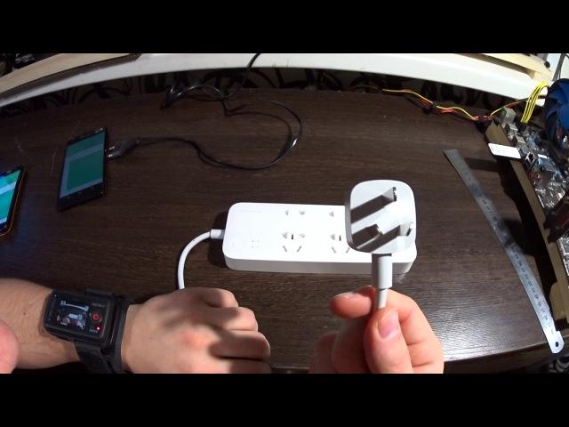 Обзор Xiaomi Wifi Power Strip удлинитель с ваттметром