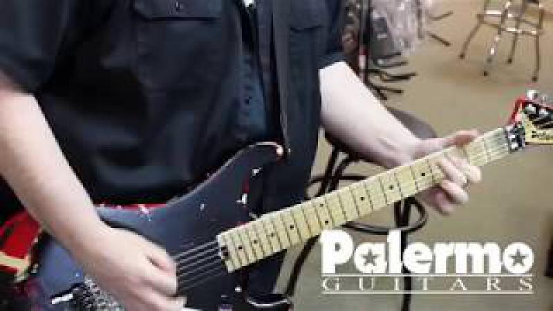 EVH Van Halen Striped 5150 Relic by Palermo Guitars 2017