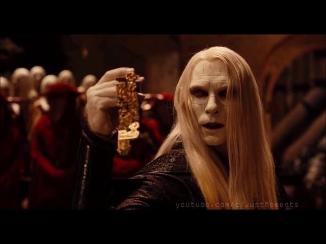 Хеллбой II Принц Нуада забирает часть короны у короля эльфов