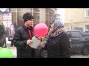 Молодіжний парламент м Подільська провів вуличну акцію Вітаємо любих жінок з 8 Березня