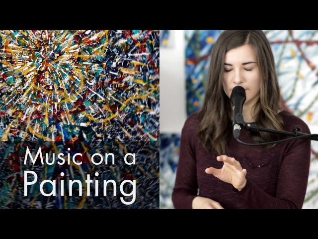 Music on a Painting: Theremin Session 4