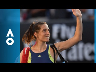 Andrea Petkovic v Petra Kvitova match highlights (1R) | Australian Open 2018