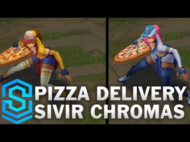 Pizza Delivery Sivir Chroma Skins