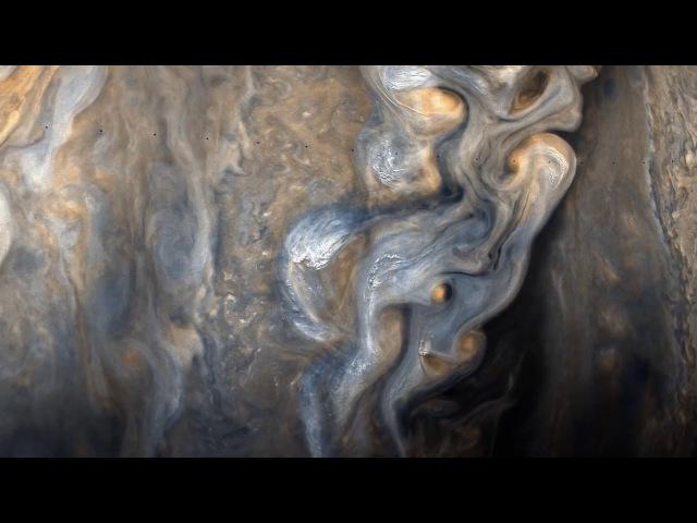 Юпитер вблизи Full HD Юнона