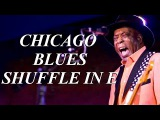 Chicago Blues Shuffle In E - 12 Bar Blues Backing Track - 10 Minutes