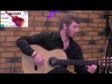Красивая музыка на гитаре Blonker Sidewalk cafe GuitarVN