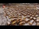 В москве нашли кладбище такси Graveyard cars cemetery taxi