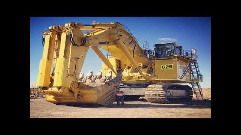 5 Heavy Dangerous Excavator Modern Biggest Construction ACTION