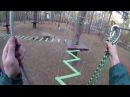 Веревочный парк Орлёнок - часть 2 - зелёный уровень