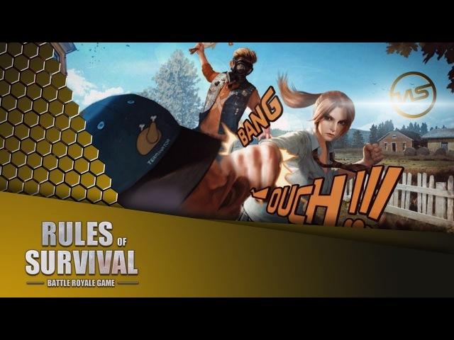 Rules of Survival (PC). ПК версия мобильного клона PUBG.