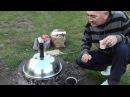 Казан-кебаб из телятины. Кофе на углях