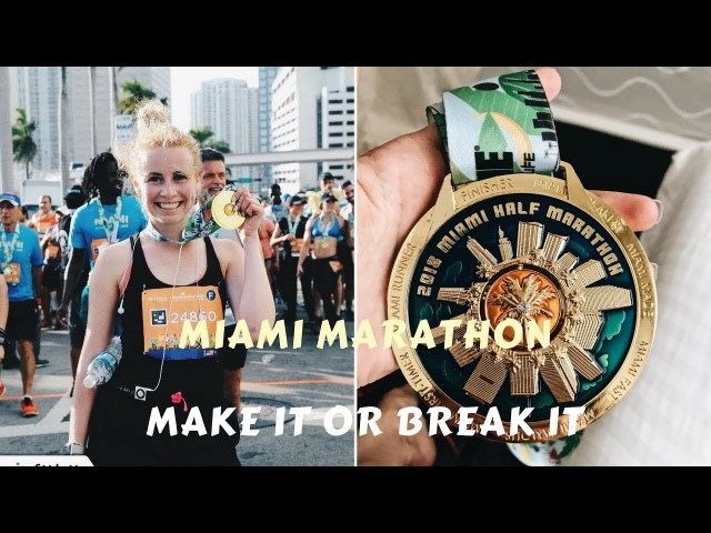 Порция мощной мотивации и участие в Fitbit Miami Marathon 2018