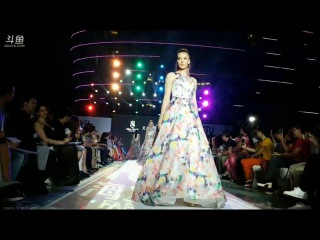 Miss World 2017 - Top Model Competition Top 30 finalists wore Chinese designers' Evening Gown