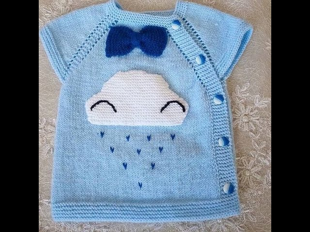 Erkek Bebek Yelek Modelleri 4 - Baby Boy Knitted Vests
