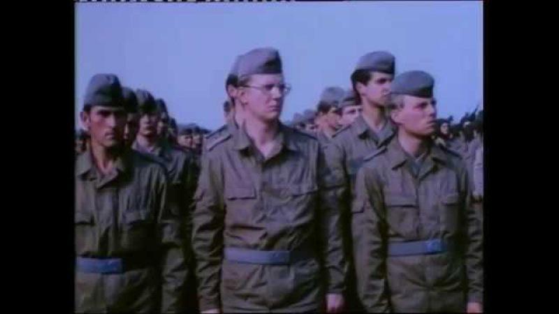 DDR Doku NVA Manöver und Zeremonie fallschirmjäger 1984