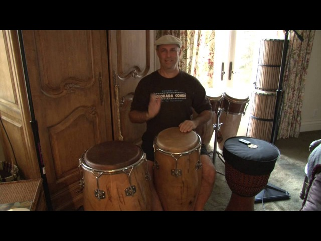 40 Conga Rhythms On 2 Drums in a 6 minute Lesson Excerpt