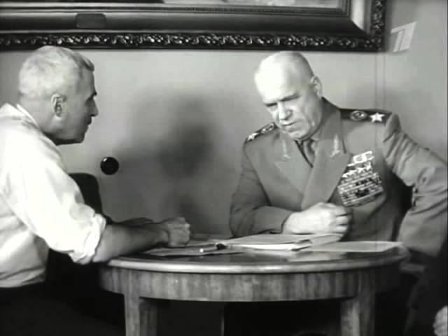 Маршал СССР Г. К. Жуков. О битве под Москвой.