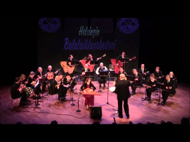 Fantasia kolmelle venäläiselle kielelle - Helsingin Balalaikkaorkesteri Olga Shishkina