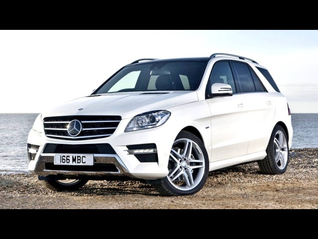 Mercedes Benz ML 350 BlueTec AMG Sports Package UK spec W166 2012–15