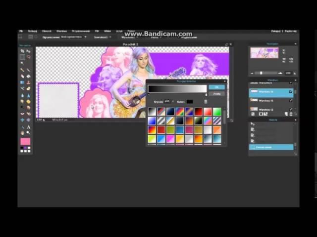Pixlr.com - poradnik 02 - Tlo Capas Katy Perry