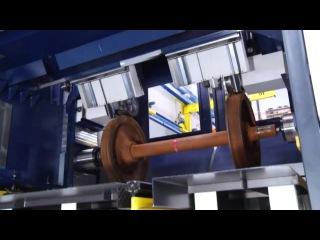 Токарно-винторезный станок с ЧПУ для обработки ж.д. колес