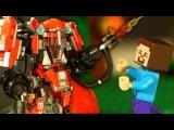 ЛЕГО НУБик ? РОБОТ LEGO Ninjago Movie Майнкрафт Мультики для Детей LEGO Minecraft Мультфильмы