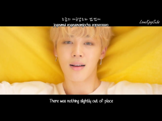 BTS (Jimin) - Serendipity ('Her' Comeback Trailer) [English subs Romanization Hangul] HD